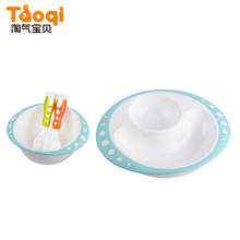 Chinese Plastic Soup Baby Bowl And Spoon Dinnerware Set