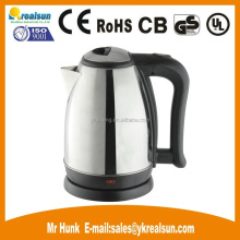T-S08 1.8Liter 1500W electric stainless steel tea kettle for wholesales