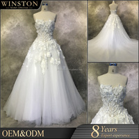 new style alibaba designs wedding gowns for fat bride a line wedding dress pattern