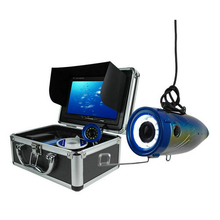 CCTV Analog 15m Super Waterproof IP67 Underwater Fishing Camera Kits with 7`` LCD Monitor