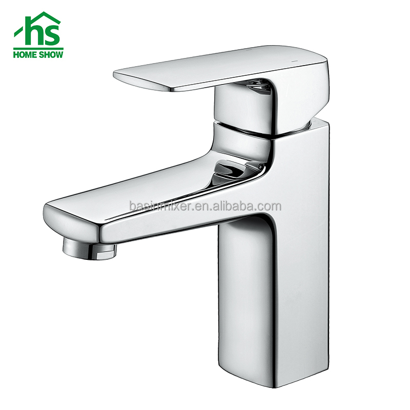 Hot and Cold Water Mixer Tap Bathroom Wash Basin Faucet