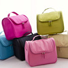 2016 summer most popular PU fringe top zipper cosmetic bag