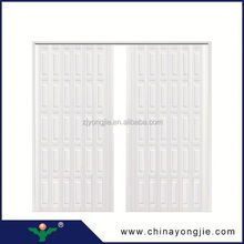 New design Position Interior plastic folding door for bathroom