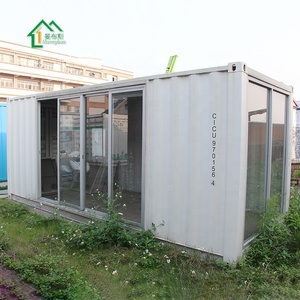 China factory prefabricated showroom shipping container exhibit room
