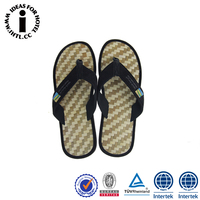 Wholesale Comfortable Antibacterial Bamboo Men Flip Flop