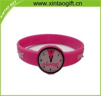 promotion silicone rubber wristband watch