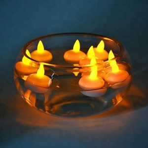 Bulb Flameless Tea light Party Light Waterproof Electric LED Tea Lights Float Candles