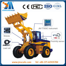 JM--T8000 wheel loader scale of zhengzhou weighing company