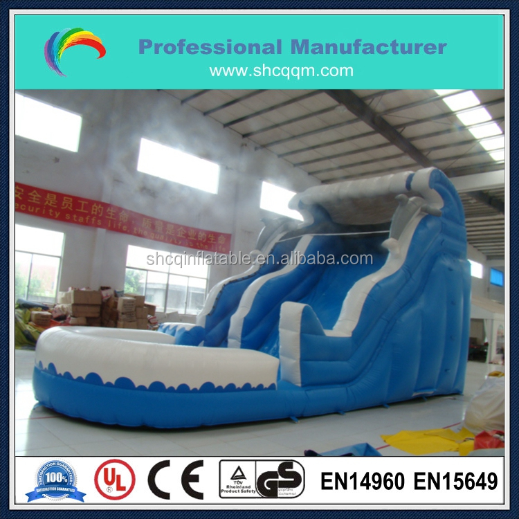 hot sale children inflatable pool with slide