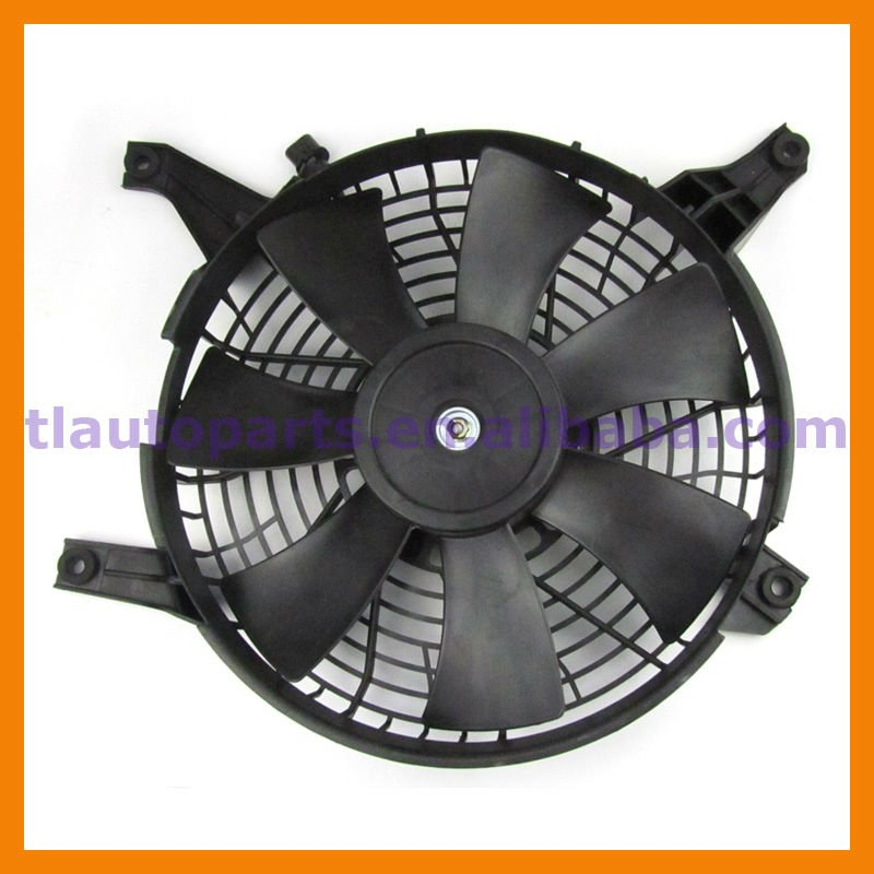 Air Conditioner Condenser Fan Motor And Shroud For Mitsubishi Pajero V73 V75 V77 V78 V93 V97 V98 MR500911 MR360801