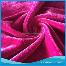 100% polyester micro korea velour fabric banquet table cloth