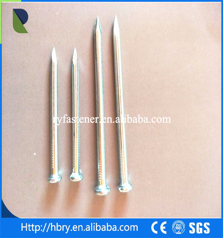 Competitive price customized size steel galvanized concrete steel nail