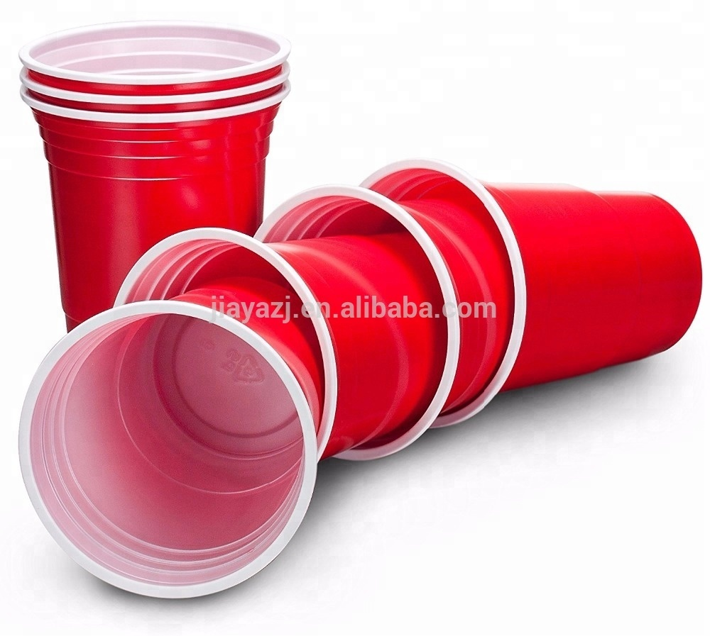 Colorful Disposable red <strong>cups</strong> beer pong / party <strong>cup</strong>/plastic beer <strong>cups</strong>