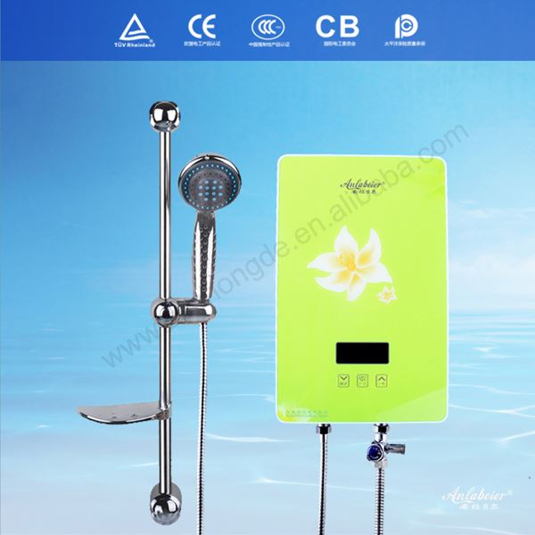 Portable bath water heater lecston instant water heater with air-break switch