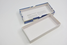 Inexpensive wholesale flat pack gift paper box