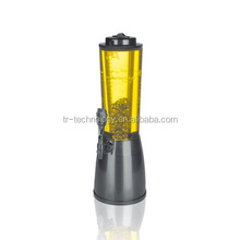 New Arrivals Tabletop 3l Ice Tube Beer Tower/led Beer Dispenser
