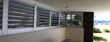 Good Quality Modern PVC Building Security Shutters,Louver,security bars