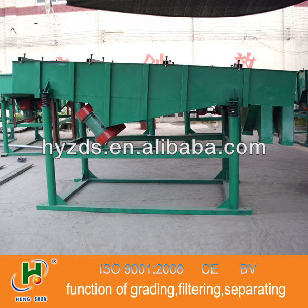 2013 hot selling Hengyu brand vibrating screen for fertilizer