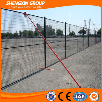 high quality powder coated temporary fencing