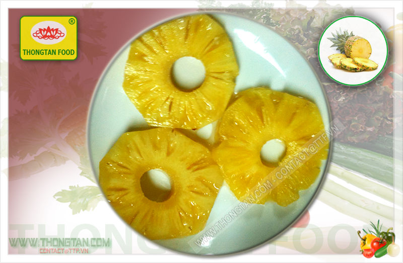ring pineapple in tin; Best price and top quality