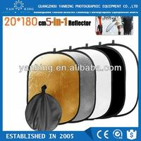 High quality portable foldable 120*180 5 in 1 studio photo reflector light reflector