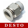 Japan CKD Type Pneumatic Plastic Fittings / Connectors