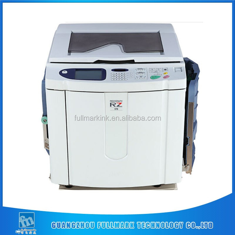 Risograph A3 digital printer RZ570/670 /630/370/390 for risos stencil duplicator