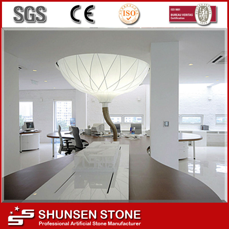 High Quality Nano Glass/White Crystal Stone Floor Tile