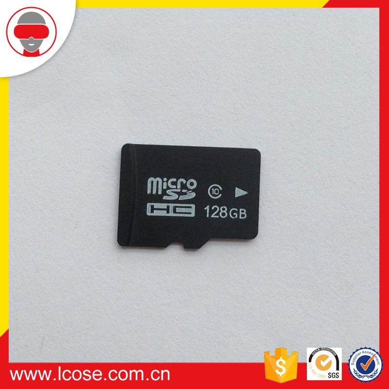 Factory wholesale class 10 sd micro 128gb memory card
