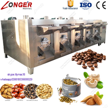 Good Performance Stainless Steel Commercial Drum Cashew Nut Peanut Bean Roaster Cacao Roasting Machine
