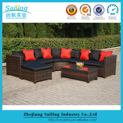 New style hot quality poly rattan outdoor nordstrom furniture set