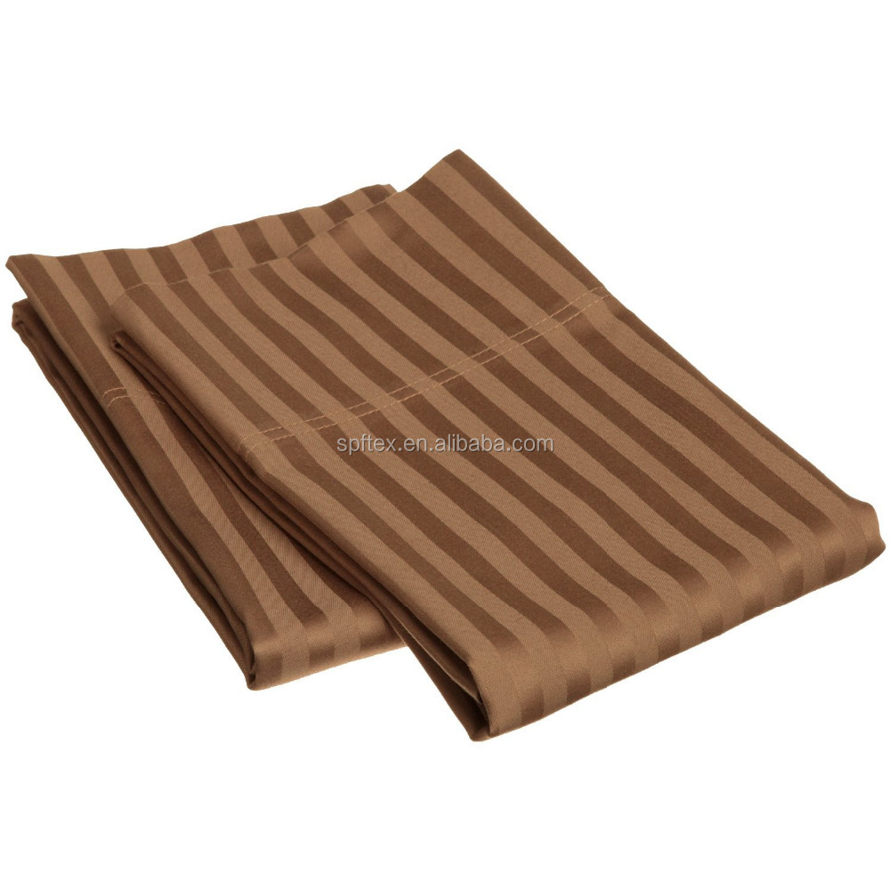 Copper Infused King Pillowcase Pair Stripe