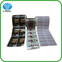 waterproof non adhesive pvc shrink sleeve label for plastic bottles