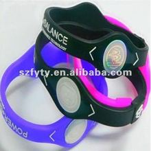 Elegant silicone power health band
