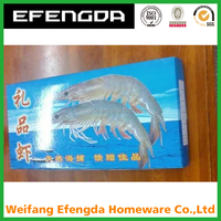Frozen food box packaging frozen shrimp box frozen fish box