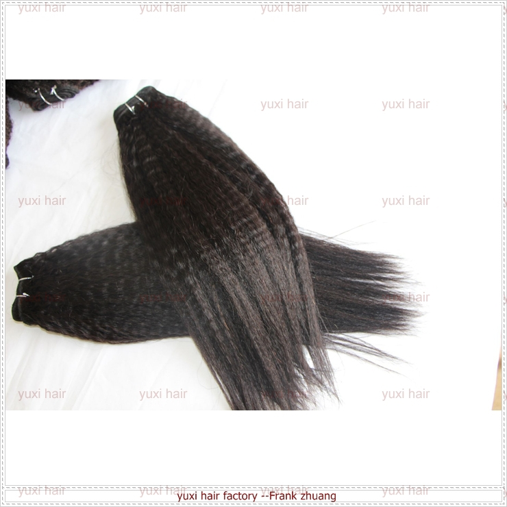 Natural Hair Products New Unprocessed Wholesale Price Virgin kinky straight hair weave