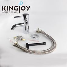 Luxury Brass Wash Basin Mixer, Hot & Cold Water Automatic Faucet, Chrome