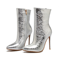 2018 Women Pointed Boots Thin High