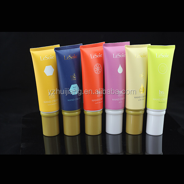 China supplier 50g Acne Cleanser in white cosmetic plastic soft tube
