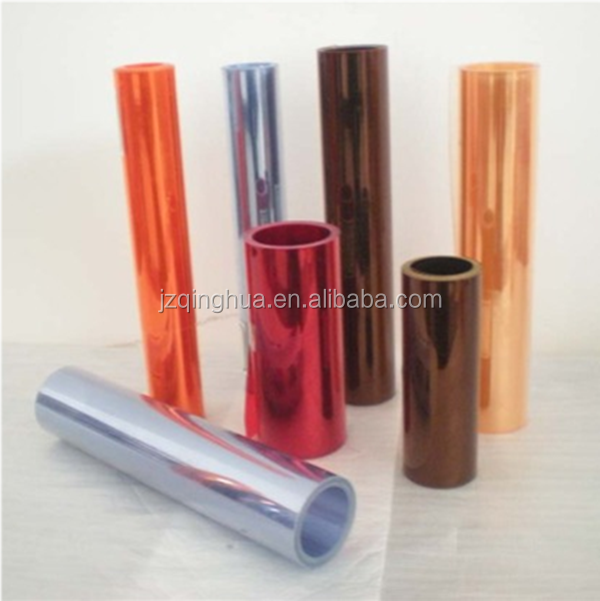 thin hard clear antistatic PVC plastic sheet