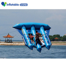 Factory price inflatable water sport fly fish, inflatable flying fish towable, inflatable flying fish tube banana