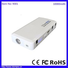 Domars Wholesale 10000mah Best Car Battery Jump Start Pack Power Bank