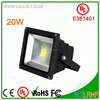UL ip65 led focus light price dongguan power supply 20W flood rechargeable light