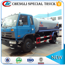 DongFeng 4x4 heavy duty used water delivery truck