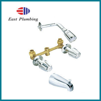 F8226S Eastplumbing Chrome tub shower trim with rough-in valve