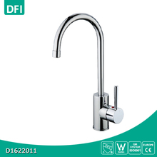 360 Degree rotation chrome water kitchen faucet