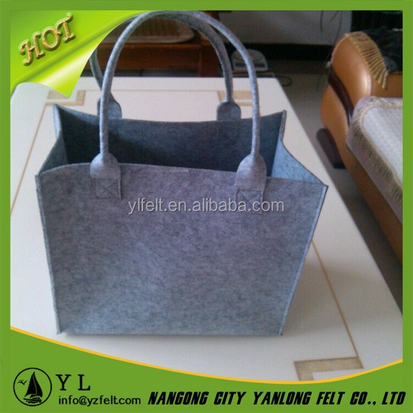 new fashion women wool felt bag from china
