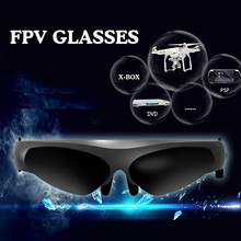 Universal 2D Virtual Reality Headset 80inch Adjustable HD Screen FPV Video Movies Games Glasses Glasses For Multicopter Drone