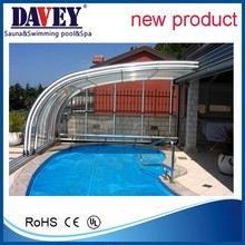 harmony style good quality polycarbonate swimming pool cover