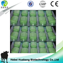 HBXS factory GMP Albendazole tablet for animal,horse,pig,sheep,cattle bolus